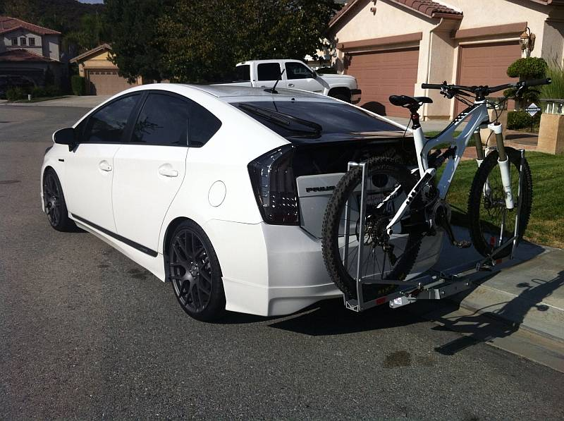Top 5 Best Bike Racks For Prius
